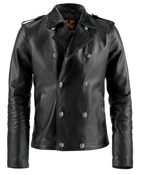 Yuma Leather Jacket by Soul Revolver in Zoolander 2