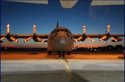 C-130 Hercules Airplane by Lockheed in Fast Five