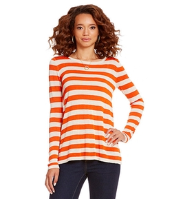 Fancy Stripe Knit Sweater by Cremieux in Ride Along 2