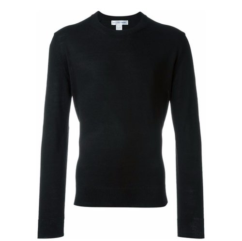 Woven Crew Neck Sweater by Comme Des Garçons Shirt in Empire