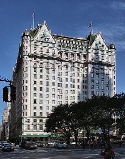 New York City, New York by The Plaza Hotel in The Great Gatsby