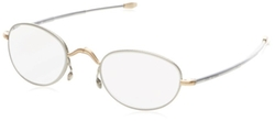 Round Reading Glasses by John Varvatos in Fifty Shades of Black