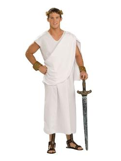 Toga Adult Plus Costume by Costume Super Center in Neighbors
