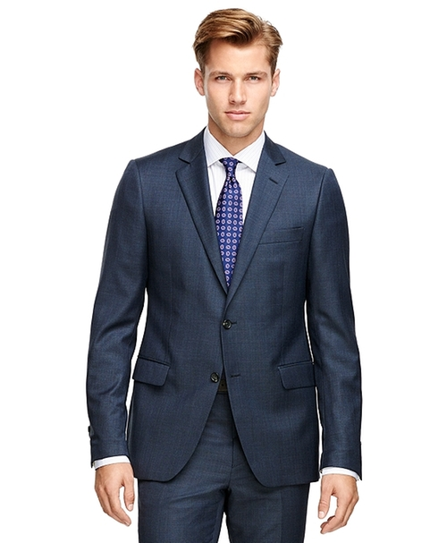 Fitzgerald Fit Windowpane Suit by Brooks Brothers in Suits - Season 5 Episode 3