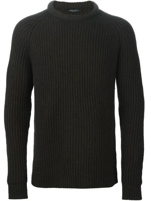 Ribbed Knit Sweater by Roberto Collina in The Living Daylights