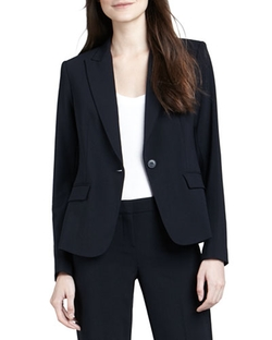 Gabe 2 One-Button Blazer by Theory in Modern Family