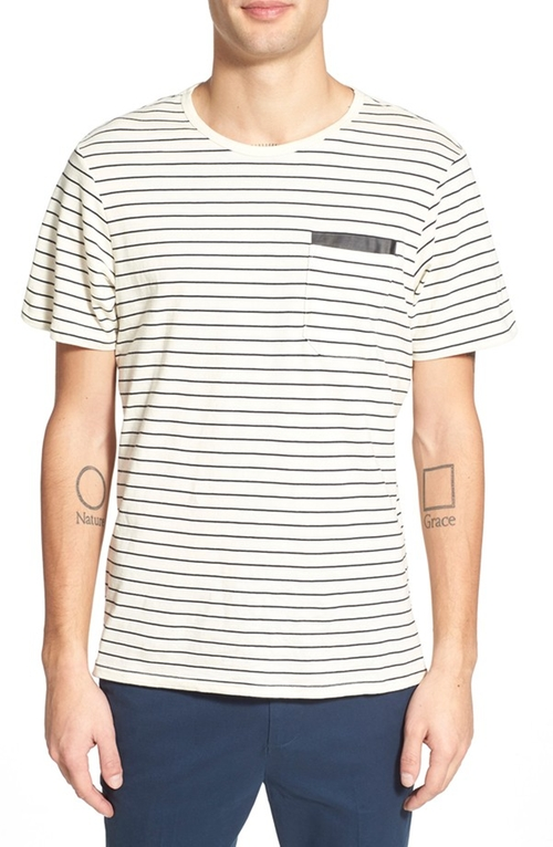 Tracer Short Sleeve Pocket T-Shirt by Tavik in Master of None