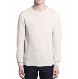 Merino Waffle Knit Wool Sweater by Todd Snyder in Daddy's Home 2