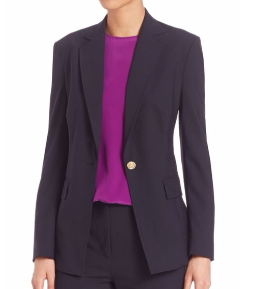 Solid Wool Blend Blazer by 3.1 Phillip Lim in How To Get Away With Murder - Season 3 Episode 3