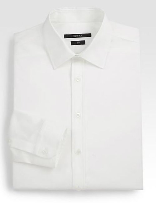 Stretch Cotton Dress Shirt by Gucci in The Counselor