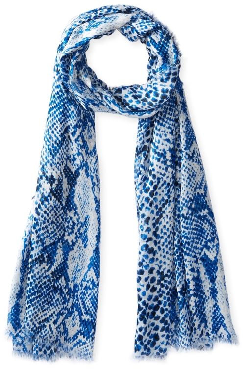 Tinted Python Wrap Scarf by Michael Stars in Sisters