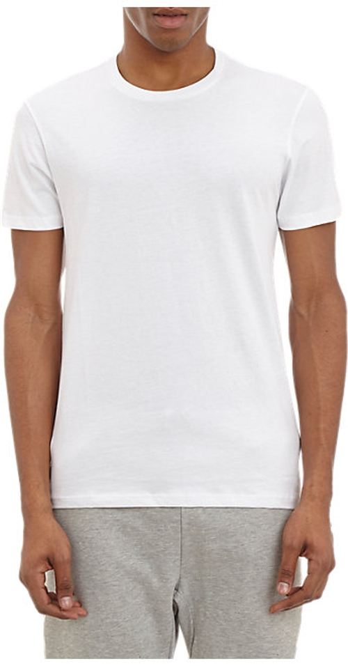 Crewneck T-Shirt by Barneys New York in No Escape