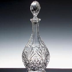 Dublin Crystal Wine Decanter by Shannon by Godinger in Sabotage