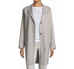 Loro Piana Two Button Coat by Peserico in How To Get Away With Murder