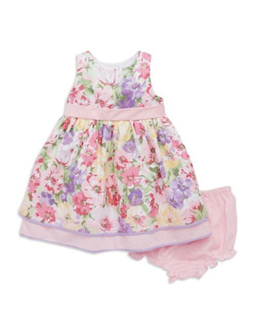 Baby Girls Floral Dress by Laura Ashley in Sex and the City 2