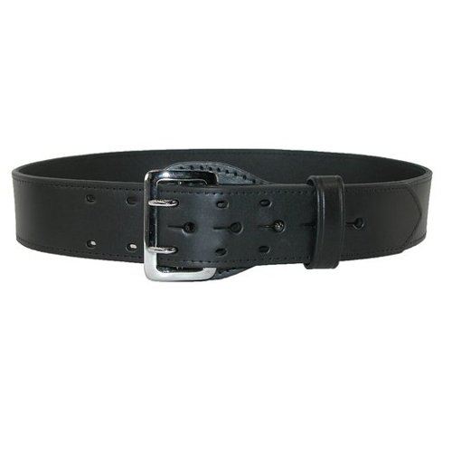 Leather Fully Lined Sam Browne Officer Belt by Boston Leather in The Age of Adaline