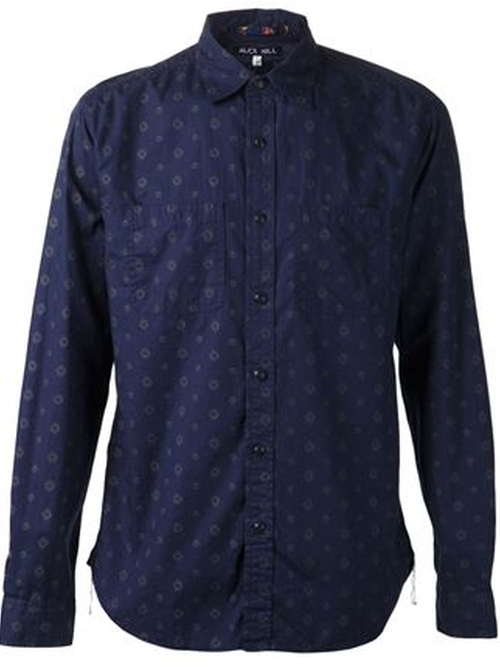 Printed Button Down Shirt by Alex Mill in Rock The Kasbah