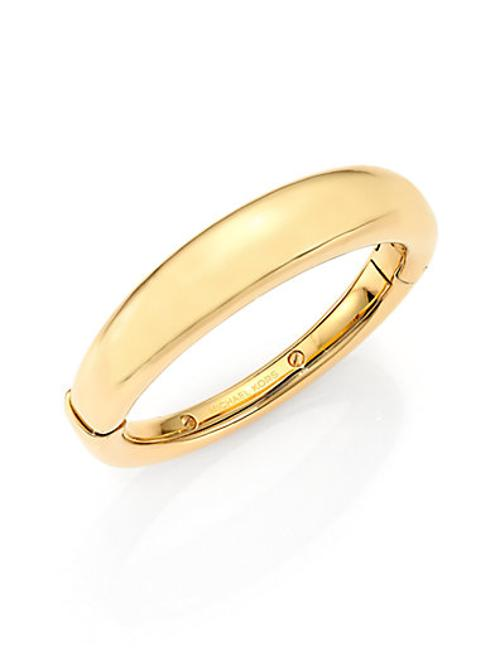 Graduated Statement Bangle Bracelet by Michael Kors in Fifty Shades of Grey