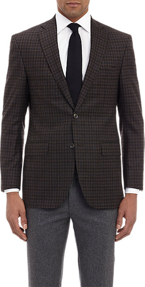 Check Two-Button Sportcoat by Barneys New York in The Martian