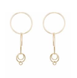XL Multi Hoop Earrings by Jennifer Fisher in Empire