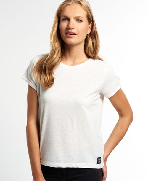 Super Sewn Rugged Lace T-shirt by Superdry in Clueless