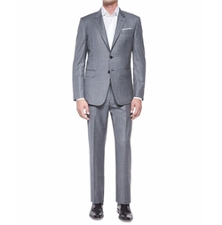 Bayard Sharkskin Wool Suit by Paul Smith in Master of None