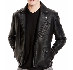 Notched-Lapel Moto Jacket by Kenneth Cole Reaction  in The Blacklist