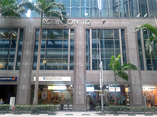 112 Robinson Rd Building Singapore in Hitman: Agent 47