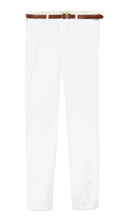 Slim Fit Chinos by Scotch & Soda in Yves Saint Laurent