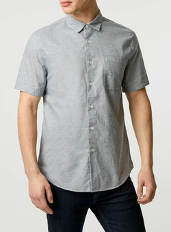 LTD Core Short Sleeve Marl Shirt by Topman in Pretty Little Liars