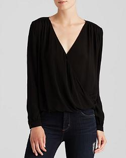 Cross Front Blouse by Velvet by Graham & Spencer in Mortdecai