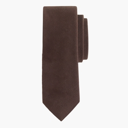 English Wool-Silk Solid Tie by J.Crew in Arrow