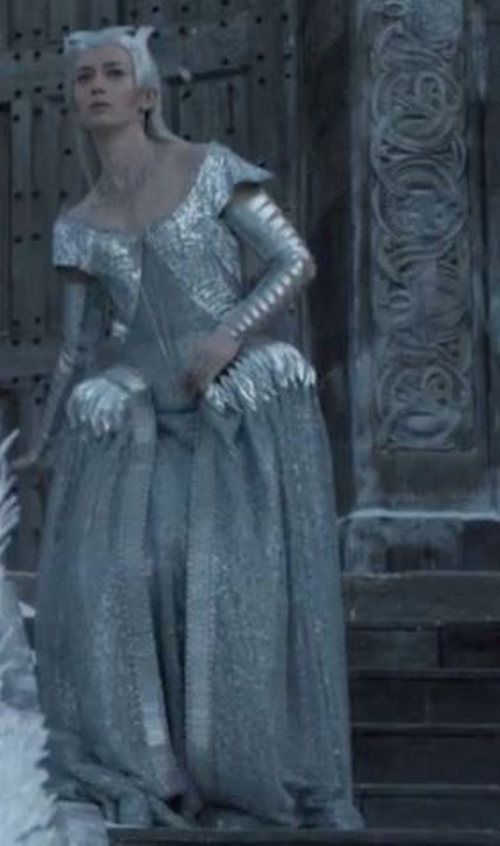 Custom Made 'Freya' Gown by Colleen Atwood (Costume Designer) in The Huntsman: Winter's War