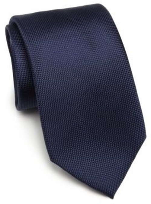 Solid Silk Tie by Saks Fifth Avenue Collection in Power - Season 3 Preview