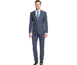 Plaid Slim-Fit Suit by Vince Camuto in 99 Homes