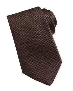 Solid Woven Silk Tie by Ermenegildo Zegna	 in The Loft