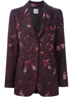 Printed Blazer by Eggs in The Good Wife