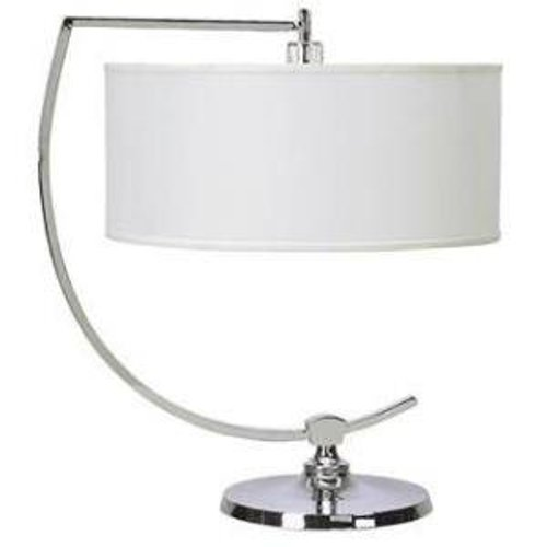 Chrome Downbridge Desk Lamp by Galaxy Arc in The Other Woman