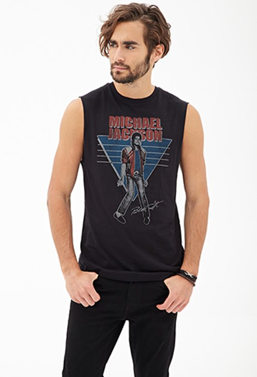 Michael Jackson Muscle Tank Top by Forever 21 in If I Stay