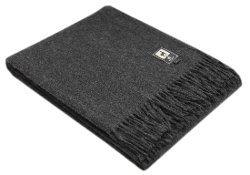 Natural Alpaca Woven Blanket Fringed Throw by Alpaca Warehouse in The Other Woman