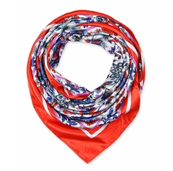 Square Silk Like Scarves Shawl Wrap Kerchief Bandana Headwear by Corciova in Sisters