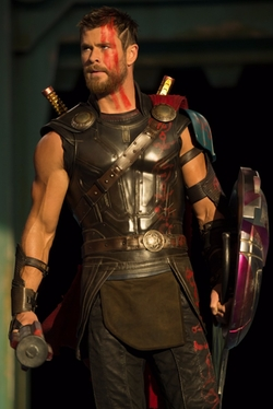 Custom Made Thor Costume by Mayes C. Rubeo (Costume Designer) in Thor: Ragnarok