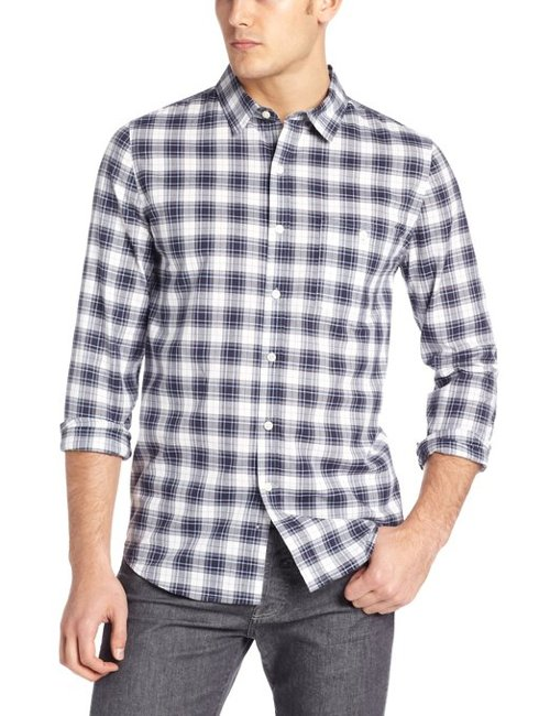 Men's Plaid Shirt by Threads 4 Thought in Begin Again