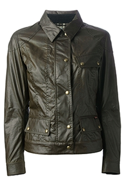 Colby Wax Jacket by Belstaff in The Flash