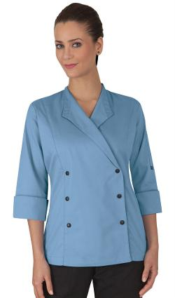 Women's Lapel Collar Chef Coat by Chef Uniforms in New Year's Eve