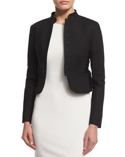 Cropped Jacket With Lace Up Sides by Red Valentino in The Good Wife