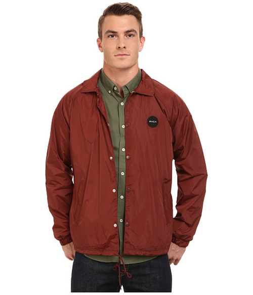 Motors Coaches Jacket by RVCA in Ocean's Eleven
