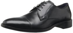 Men's Lenox Hill Cap Oxford Shoe by Cole Haan in Blackhat