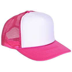 "Pink ""I Eat Danish"" Trucker Hat by Custom in Pitch Perfect 2"