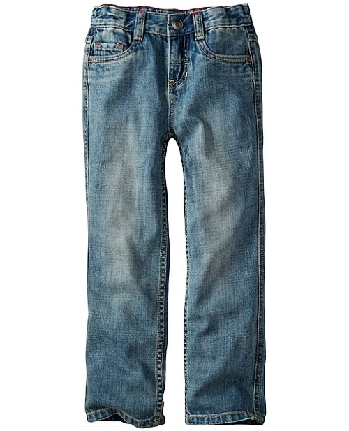 Five Pocket Slim Jeans by Hanna Andersson in Sinister 2